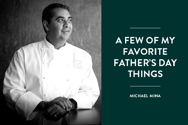 Chef Michael Mina's Favorite Father's Day Activities Plus the Summertime Cocktail He Recommends Making Dad