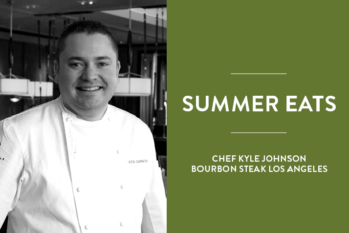 Chef Kyle Johnson Shares His Must-Have Ingredients for Summer Dishes