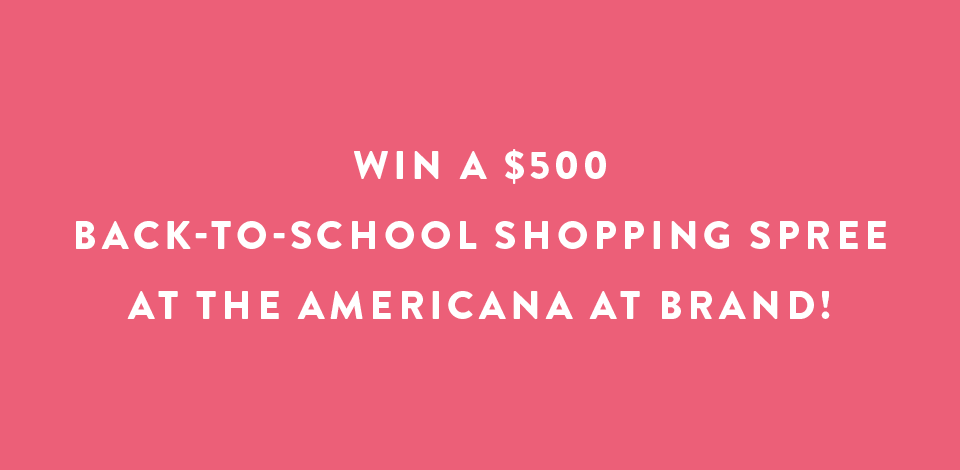 School of Style Sweepstakes