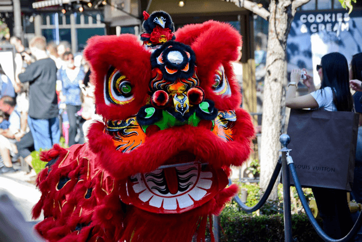 Dazzling Décor and Lively Performances to Celebrate Lunar New Year at The Americana at Brand