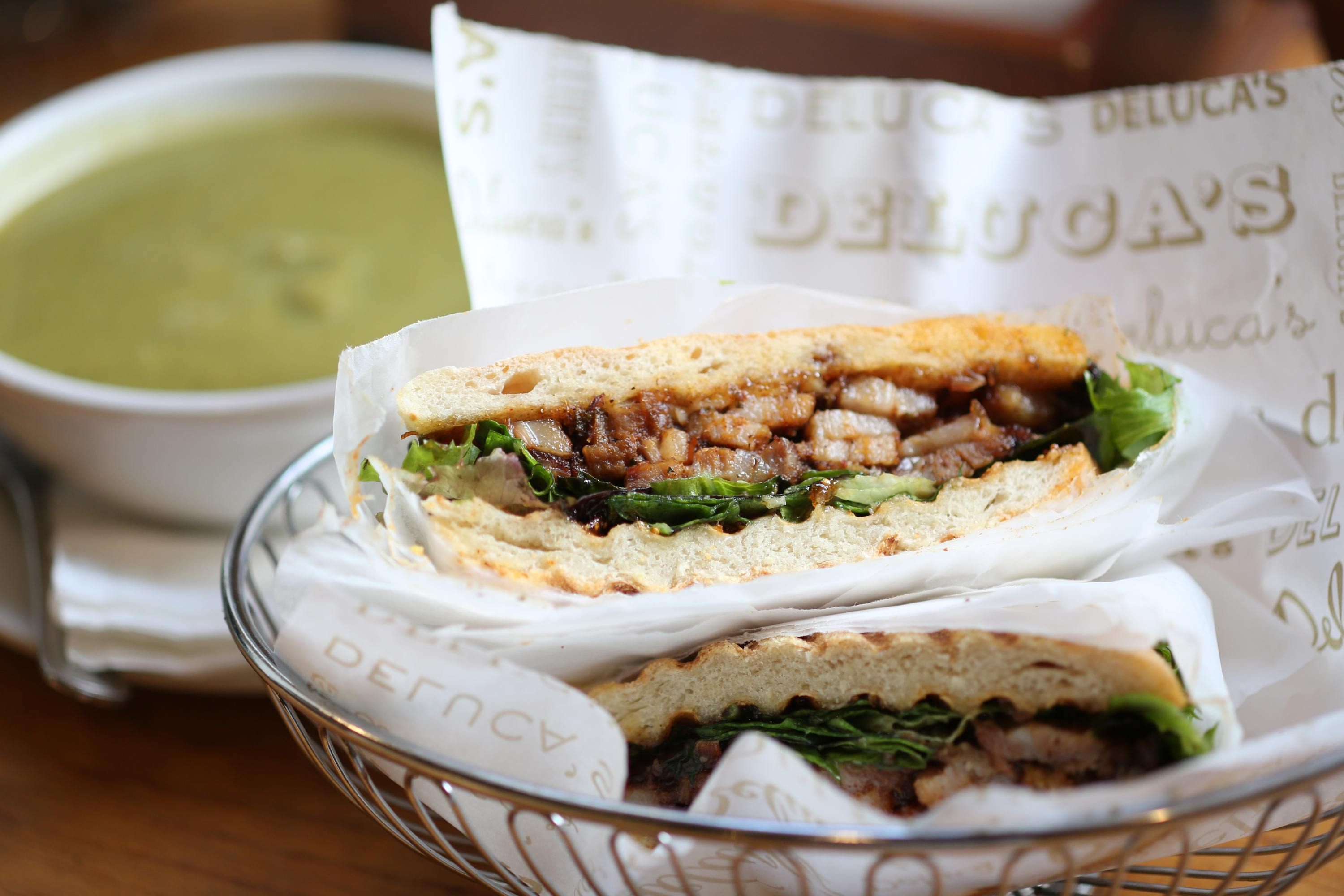 Deluca's at The Americana at Brand