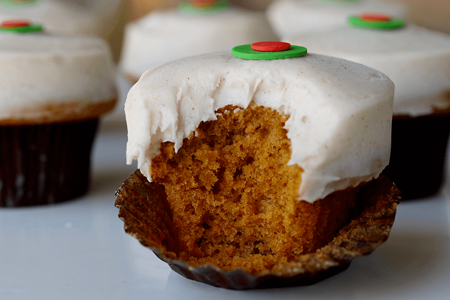 Pumpkin Cupcakes at Sprinkles