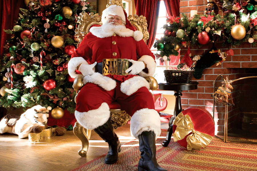 Visit Santa at The Americana at Brand