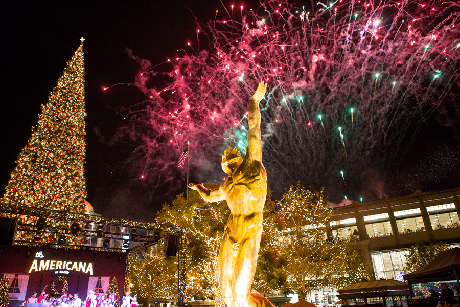 Keck Medicine of USC Presents: Christmas at The Americana at Brand