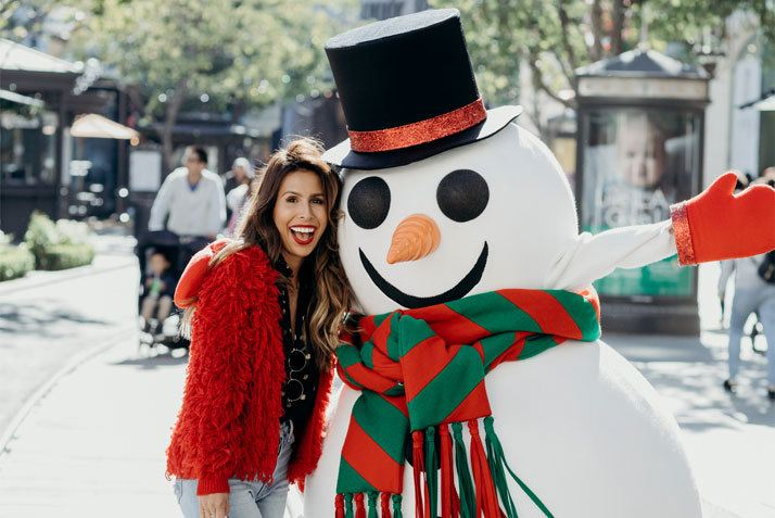 Holidays at The Americana at Brand with Ashley Torres