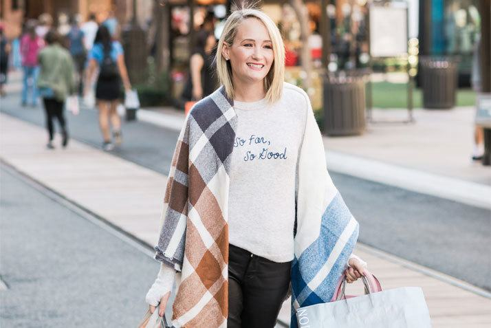Holidays at The Americana at Brand with Ashley Fultz
