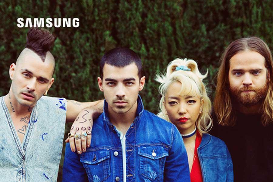 DNCE X Samsung