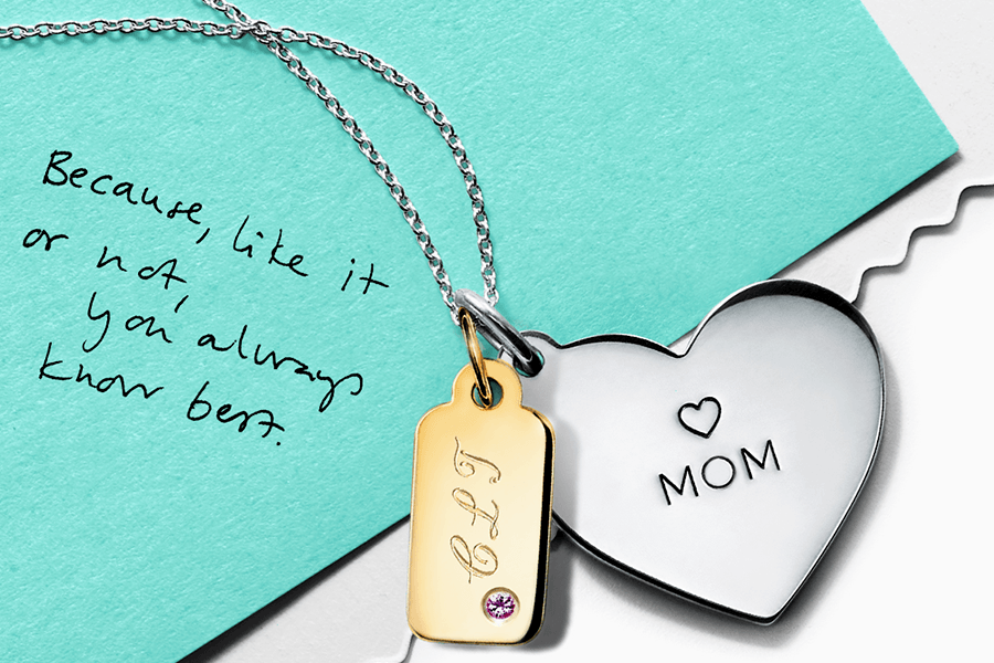 a84ee45eb Special Hand-Engraving for Mother's Day at Tiffany & Co. • The ...