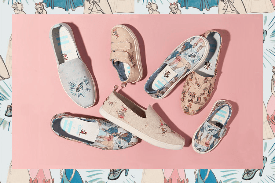 Disney x TOMS Collaboration: Cinderella Collection