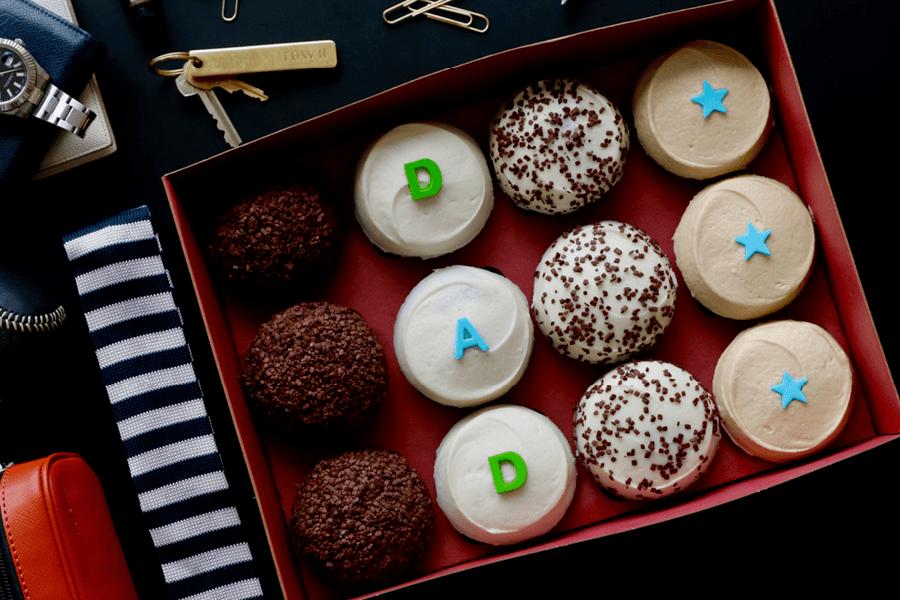 DAD Cupcakes Box at Sprinkles Cupcakes