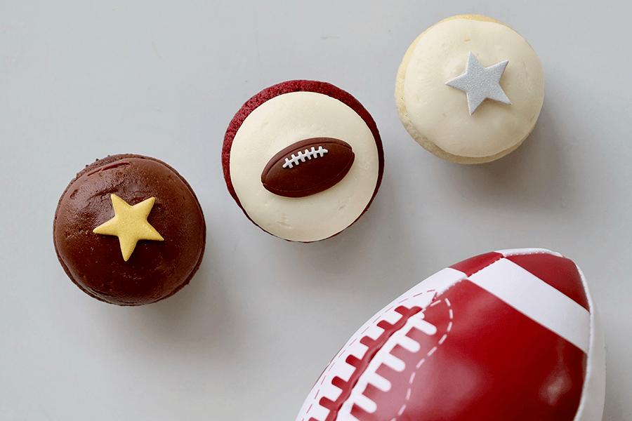 Football Season Mini Sampler at Sprinkles