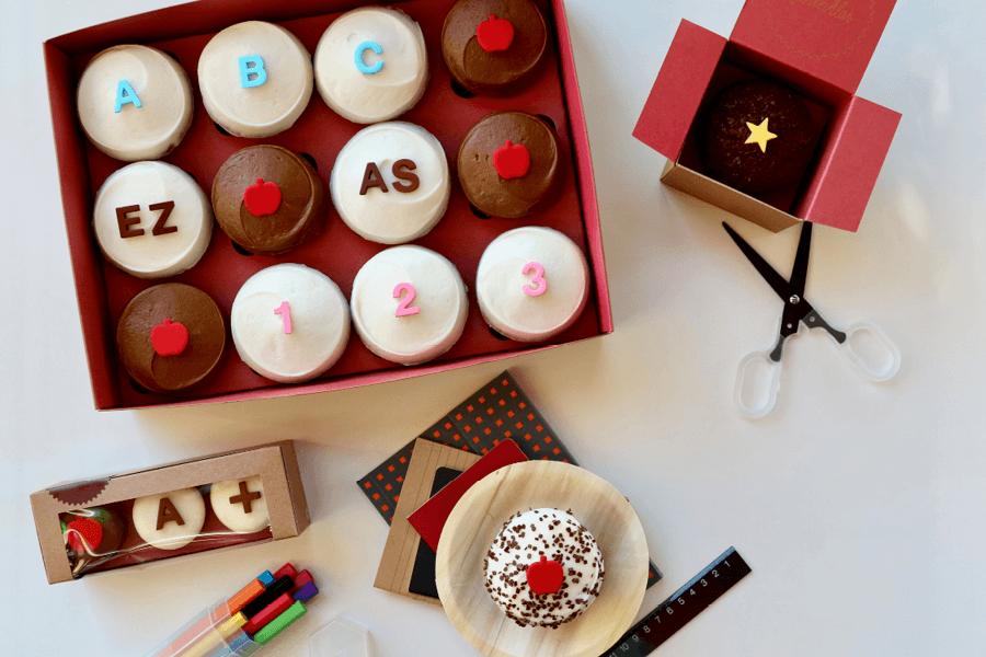Back-to-School Mini Sampler at Sprinkles Cupcakes • The