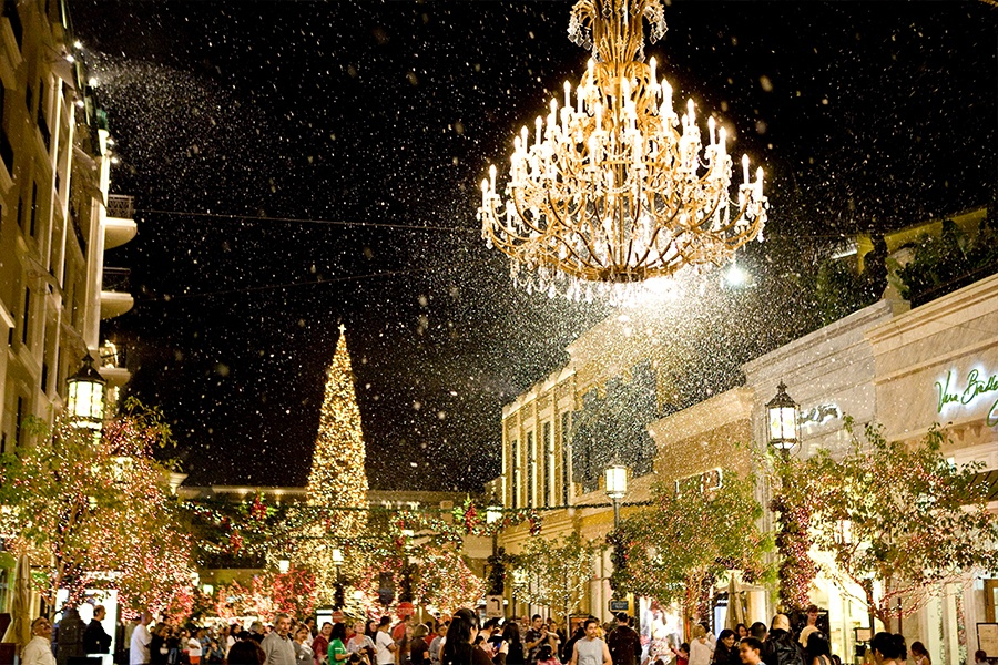 A Winter Wonderland • The Americana at Brand