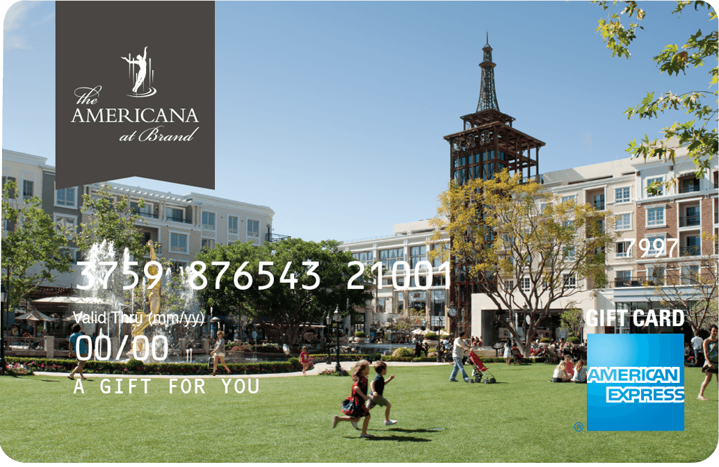 The Americana at Brand AMEX Gift Card