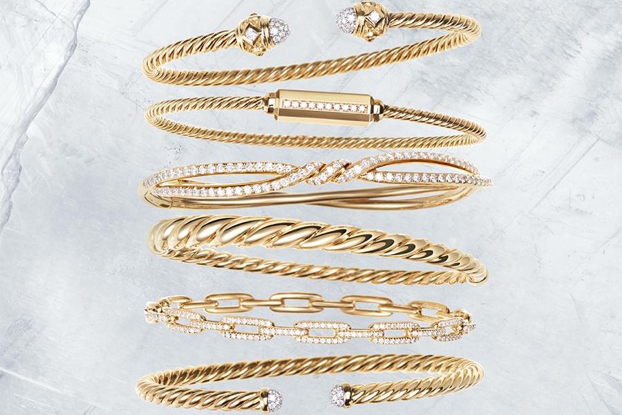 Stack Your Bracelets at David Yurman