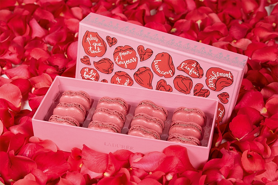 Limited-Edition Valentine's Day Treats at Ladurée