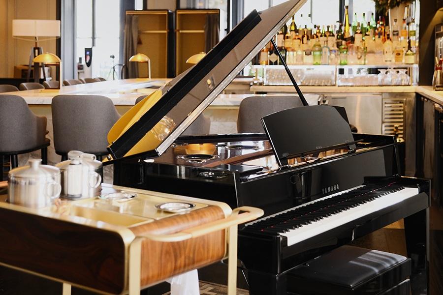 Bourbon Steak Los Angeles Piano Bar