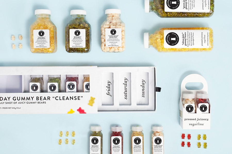 Sugarfina x Pressed Juicery Collection at Sugarfina