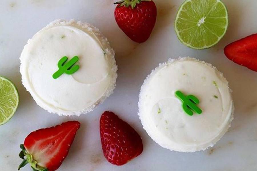 Strawberry Margarita Cupcake at Sprinkles Cupcakes, Ice Cream & Cookies