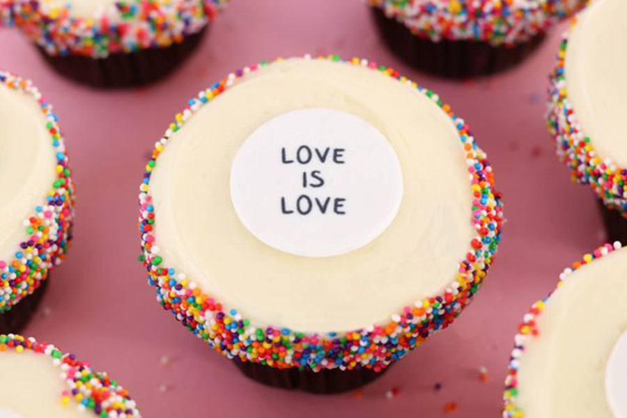 Pride Flavor at Sprinkles Cupcakes, Ice Cream & Cookies