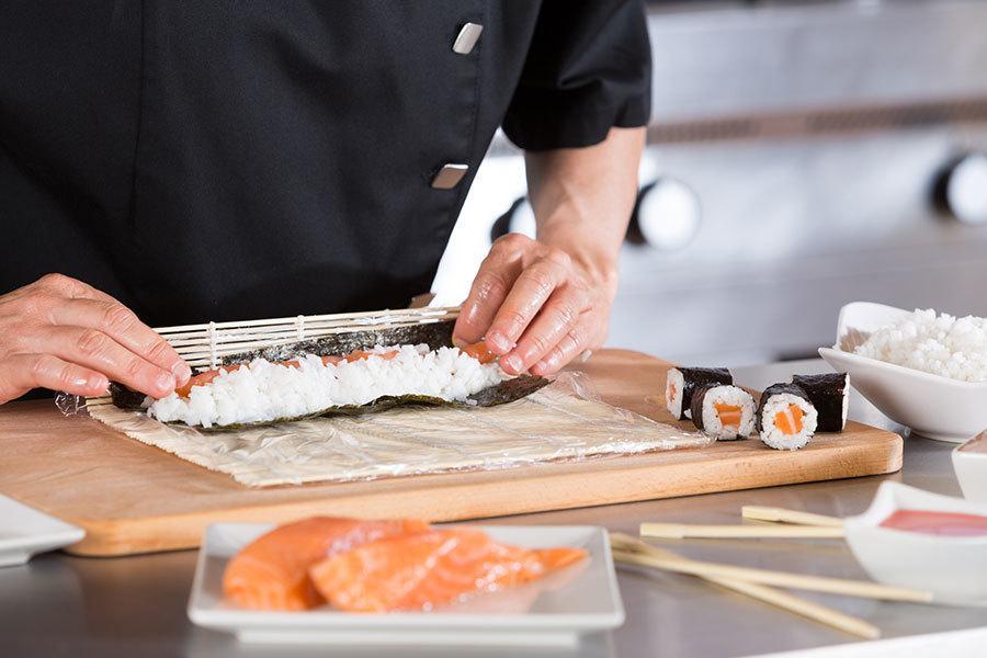 Sushi Rolling Class at Katsuya