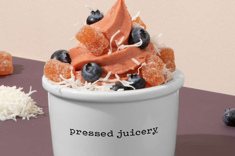 National Ice Cream Day with Pressed Juicery