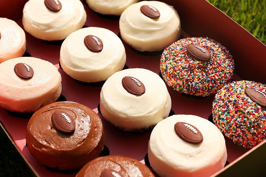 Football Mini Sampler at Sprinkles Cupcakes, Ice Cream & Cookies