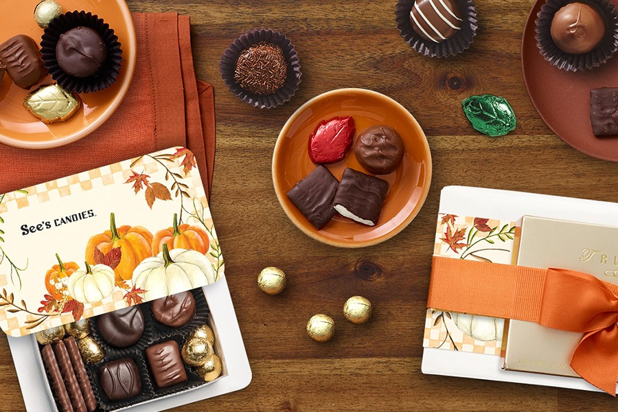 Fall Treats at See's Candies
