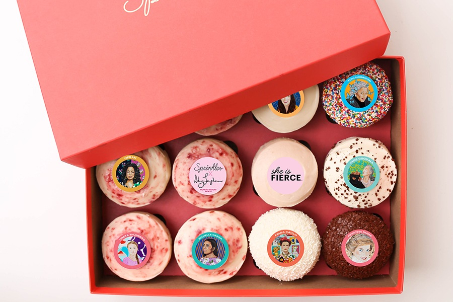 Women's History Month at Sprinkles Cupcakes, Ice Cream and Cookies