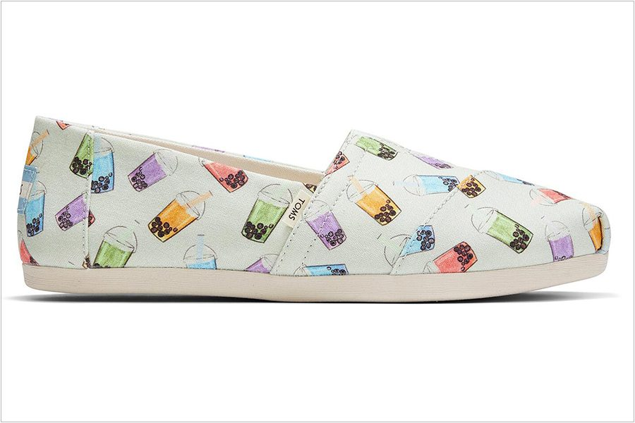 Limited-Edition Boba Tea Shoes at TOMS