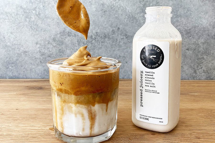 Whipped Coffee Tutorial with Pressed Juicery