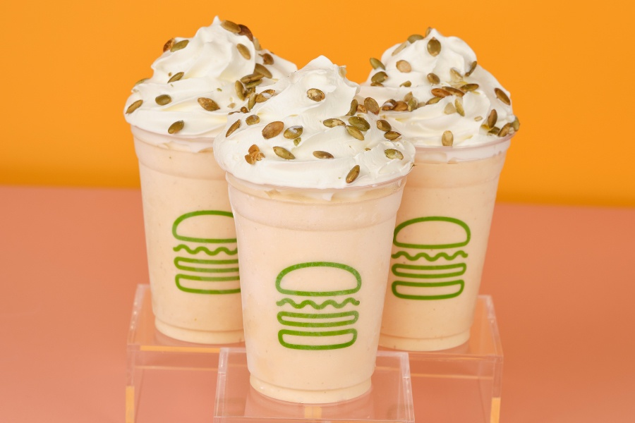 Pumpkin Shake at Shake Shack