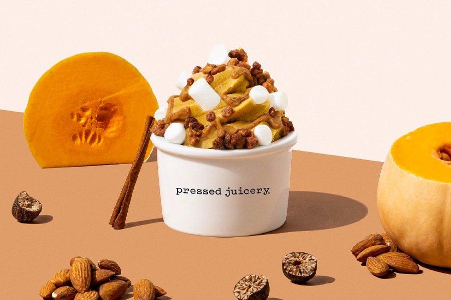 New Pumpkin Freeze at Pressed Juicery