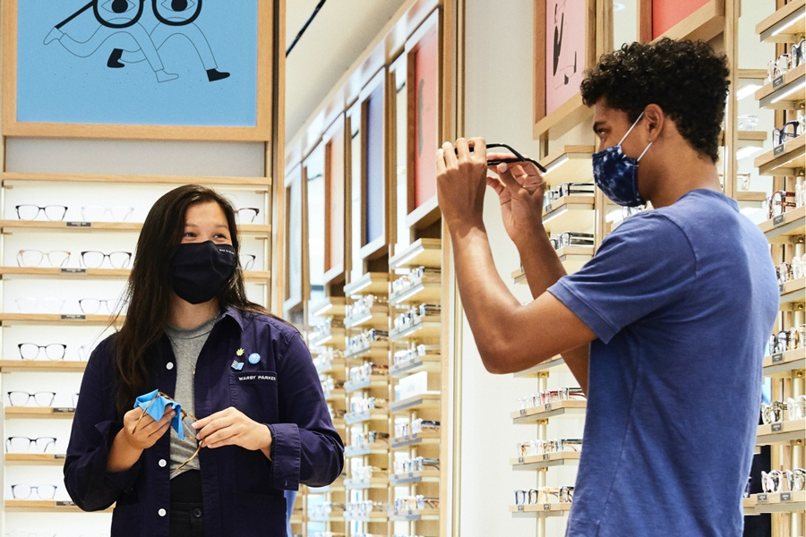 Warby Parker Now Open