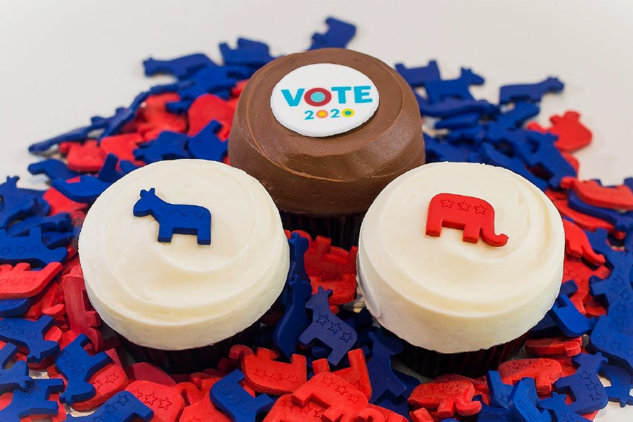 Vote 2020 Collection at Sprinkles Cupcakes, Ice Cream and Cookies