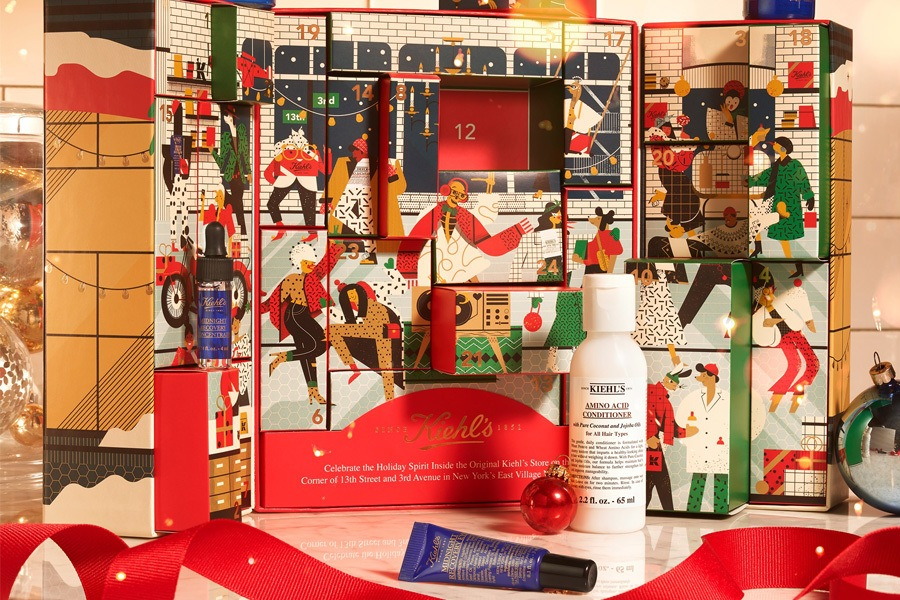 Advent Calendar at Kiehl's Since 1851