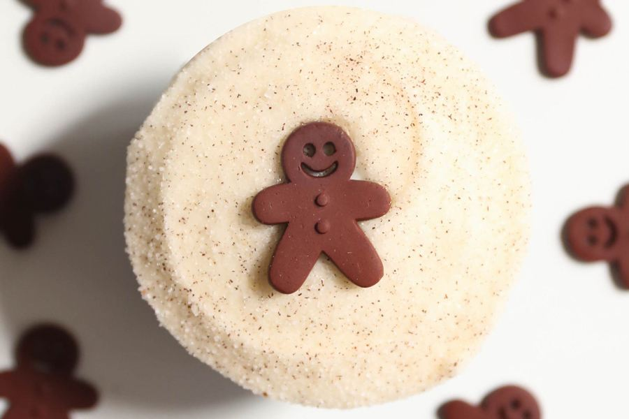 Gingerbread for the Holiday at Sprinkles Cupcakes, Ice Cream and Cookies