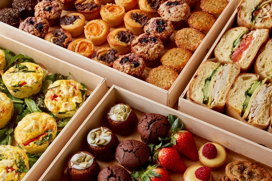 Catering at Le Pain Quotidien