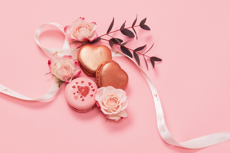 Valentine's Day at Ladurée