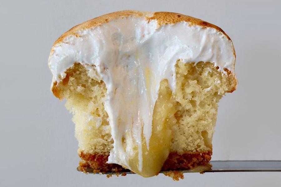 Lemon Meringue at Sprinkles Cupcakes, Ice Cream and Cookies