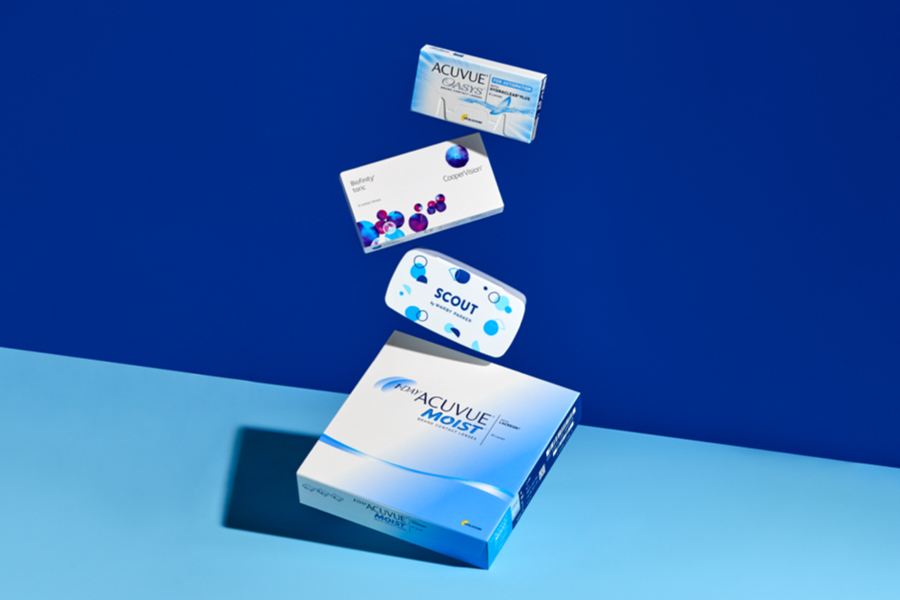 Contact Lens Offer at Warby Parker