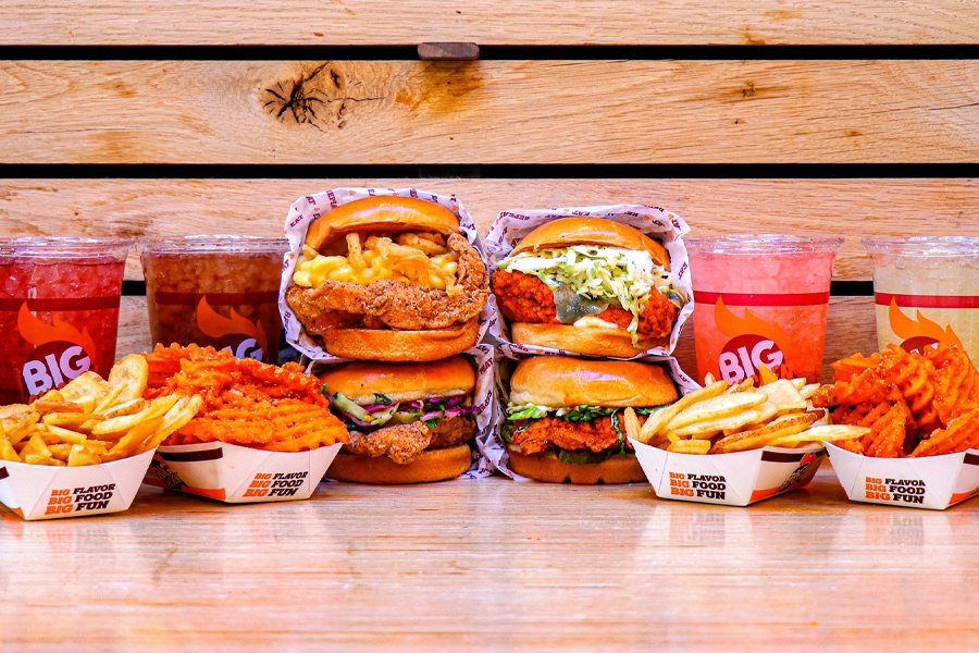 Catering for Summer at Big Chicken