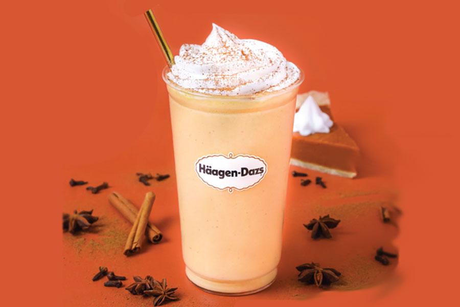 Pumpkin Spice Shake at Häagen-Dazs