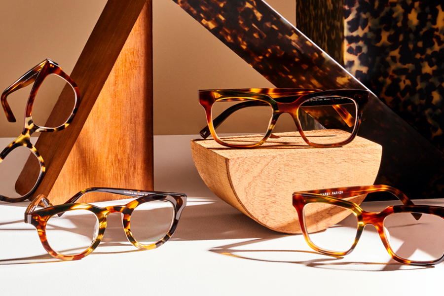 Fall Tortoise Collage at Warby Parker