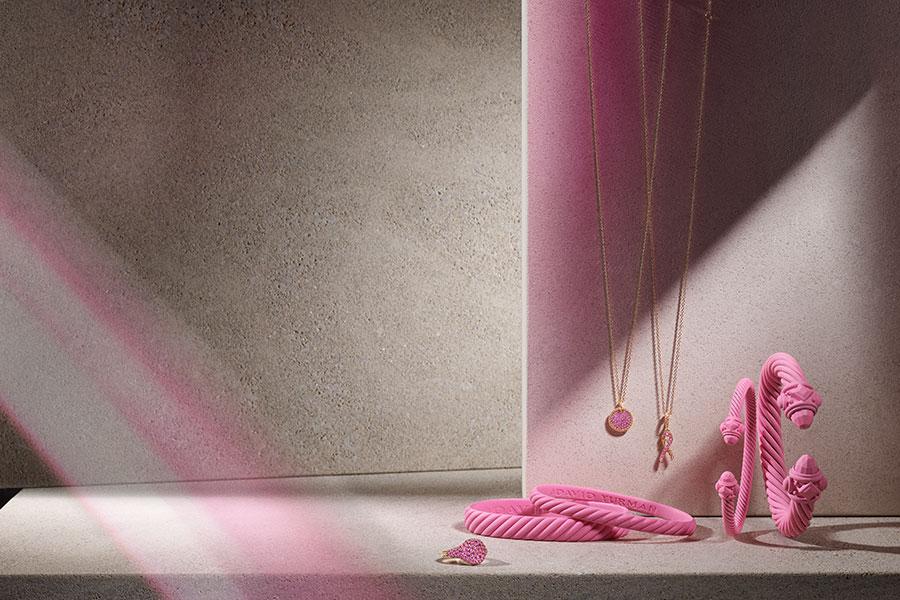 Breast Cancer Support at David Yurman